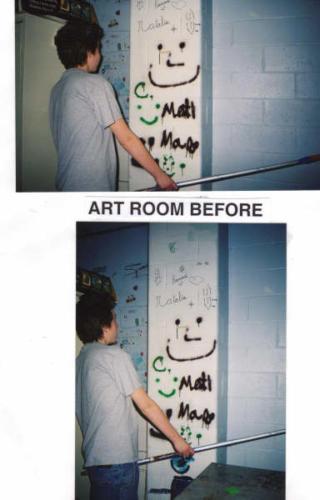 eagle art room before