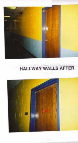 eagle hallways after